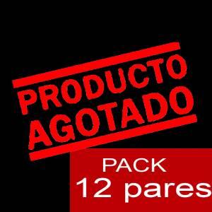 Imagen Enrollables/Plegables Bailarinas Enrollables Modelo ESPECIAL - ROSA PASTEL - Lote de 12 pares (OFERTA VERANO)
